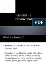 CH-3-Product Policy and Mktg Mix