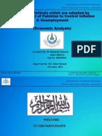 Economic Analysis Presentation by Hammad
