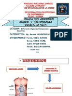 Abdomen Agudo y Hemorragia[1]