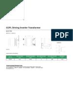 TIANJIN EE19-D CCFL Driving Inverter Transformer