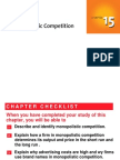 Ch15 Monopolistic Competition