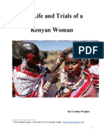 The Life and Trials of a Kenyan Woman
