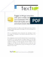 textUR - Opt-In Mobile Messaging by Traction