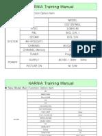 [s16c] Narnia Training Manual Cs21z57mql Ct21z57mql En