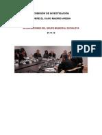 Comisión de Investigación Madrid Arena