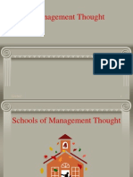 Chapter 3= Management Thought