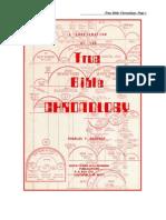 Bible Chronology