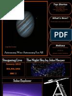 Astronomy Wise December 2012 Astronomy EZine