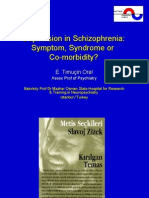 Depression in Schizophrenia
