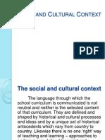 Social & Cultural Context[Dev]