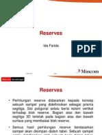 05 Reserves