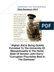 Military Resistance 10K15 Corruption Flourishes