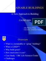 Sustainability and LEED Buildings a Facilities Managment Perspective by John Metras