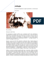 Marx e a Sociologia