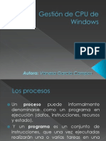 Gestión de CPU de Windows