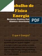Trabalho de Física -  Energia