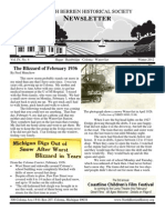 Winter 2012 Newsletter - North Berrien Historical Society