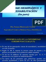Rehabilitacion en el sindrome hemiplejico