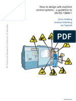 SP Electronics How to design safe machine control systems - A guideline to EN-ISO-13849-1 - 2011