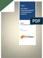 Modül4-2 Veri Tabanı Sorgulama İşlemleri ve  Programlama Nesneleri