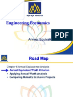 Annual Equivalence Analysis - Engineering Economics