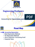 Accounting for Depreciation and Income Taxes - Engineering Economics