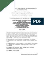 Cover Reservoir Doc Minutes of Regulators April 2005