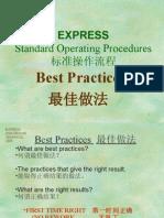 Express Woven Presentation English & Chinese Version