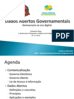 Dados Abertos Governamentais - Democracia na era digital