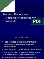 Cap 4 Modelos Financieros Préstamos y acciones con Dividendo