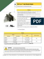 Banner D10 Dual Discrete Outputs
