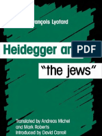 Heidegger and the Jews