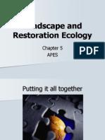 Landscape and Restoration Ecology