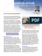 Briefing-How's Your Market Segmentation
