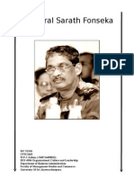 Sri Lanka Army Comander General Sarath Fonseka