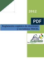 REGLAMENTO TRICEL 2012