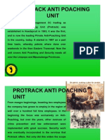 Protrack Anti-Poaching Unit - About