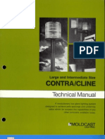 Moldcast Lighting Contra Cline Large and Intermediate Technical Manual 1982