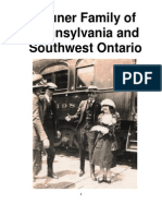 Bruner Family of Pennsylvania and Southwest Ontario
