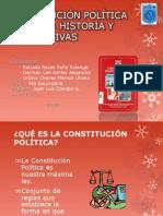 Historia de las Constituciones politicas del Perú FCC 4to año sec.
