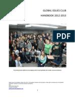 Global Issues Club Handboook 2012 2013