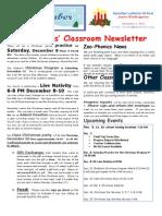 Week 16 Newsletter 2012