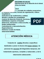 Organizaciones de Salud