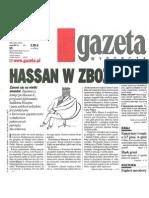"""""""Hassan w zbożu"""" 6.12.2002"""