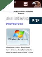 instalación de un sistema operativo de red