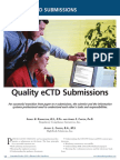 Quality eCTD Submissions