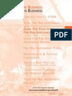 Fire Risk Assessment Guidelines