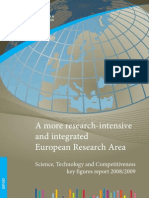 El Informe de cifras clave sobre la ciencia, la tecnología y la competitividad 2008/2009