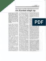 Armin Konket Stapt Op