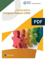 El Cuadro europeo de indicadores de la innovación 2008.